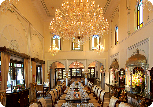Royal Dining In Heritage Hotel In India Swapan Mahal