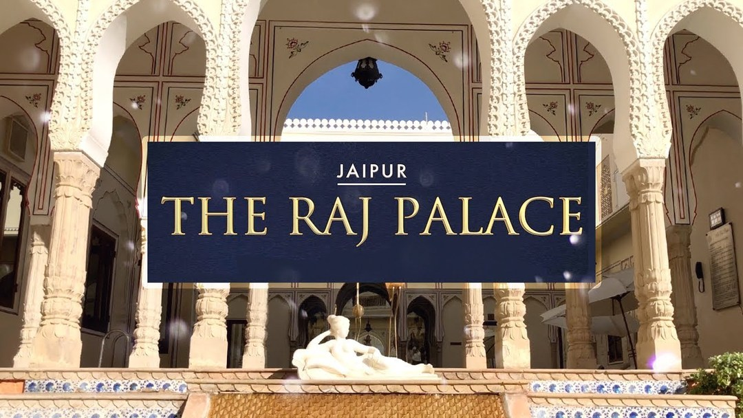 The Raj Palace luxury Hotel in Jaipur